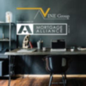 VINE Group office desk logo.jpg