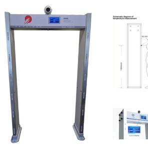 IR Temperature Detector Gate