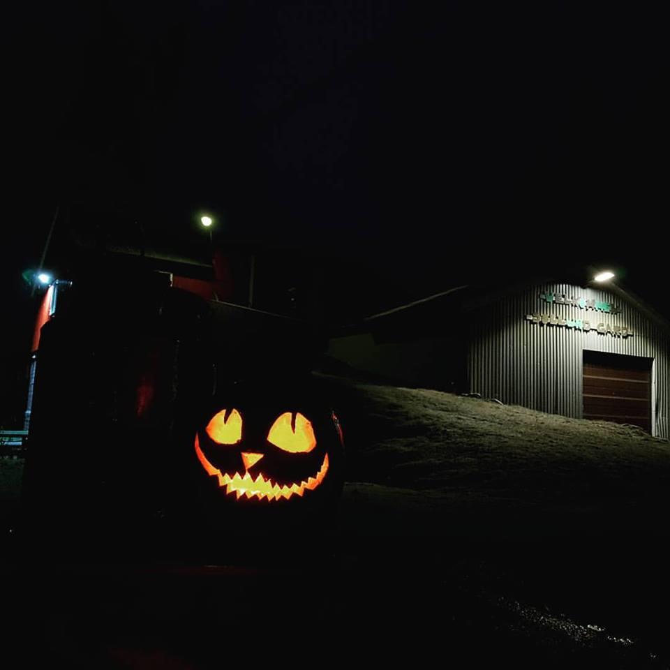 Halloween dans la ferme de Sollund