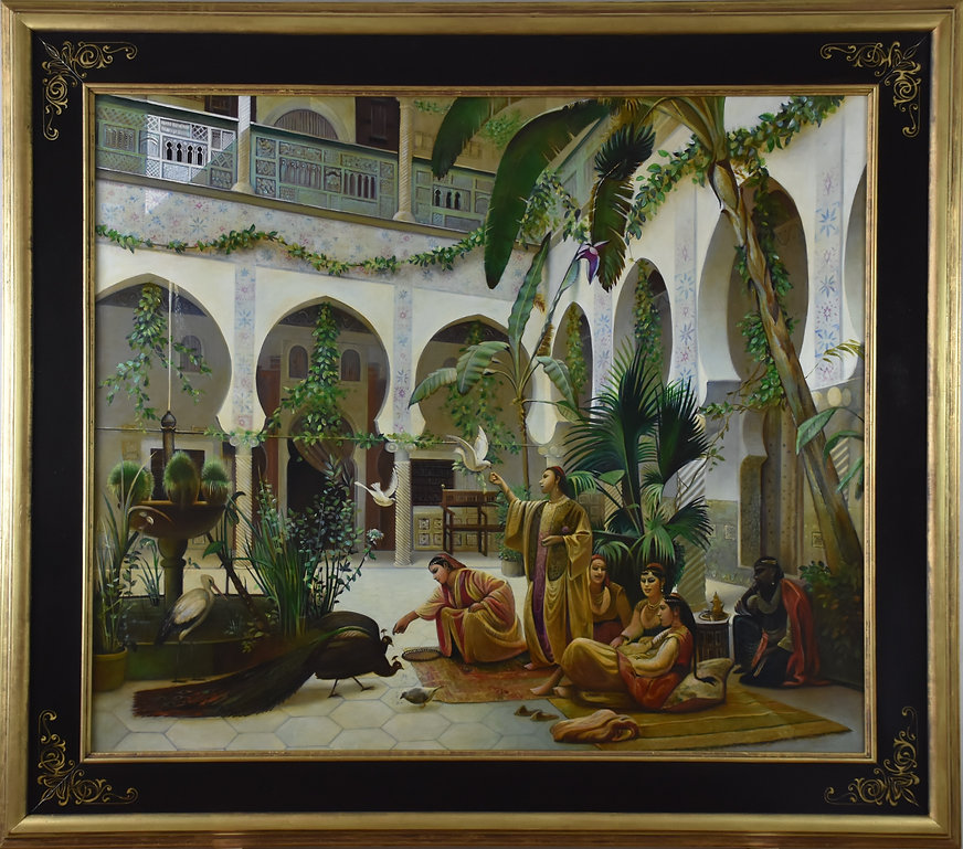 court of harem von Albert Girard