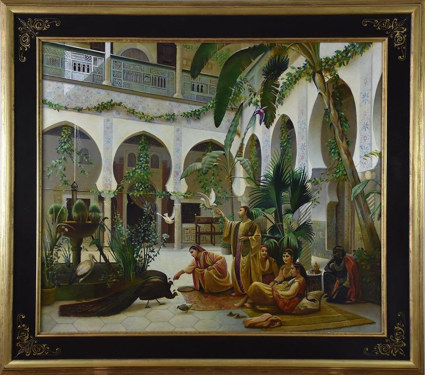 court of harem von Albert Girard
