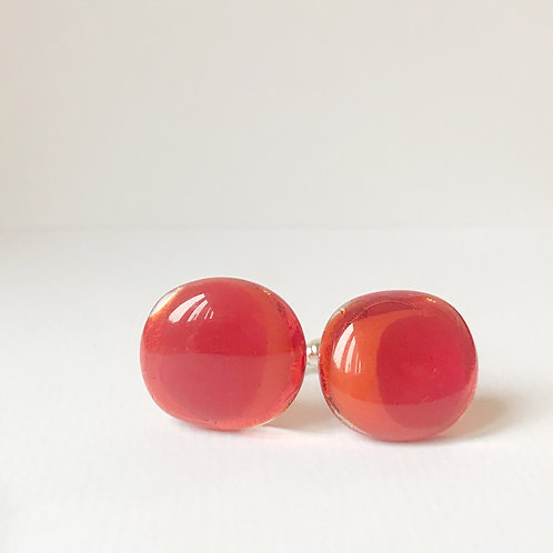 Colour Pop Cufflinks - Bright Orange