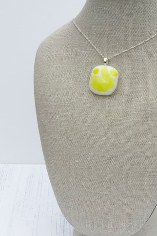 Bright Yellow Sprinkle (Extra Small Pendant)