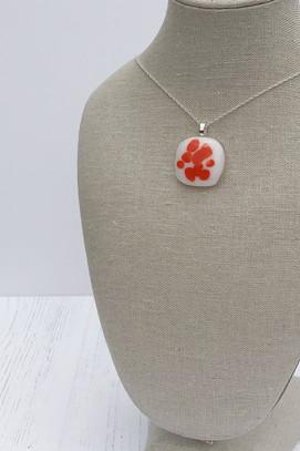 Brilliant Orange Sprinkle Pendant (Extra Small)