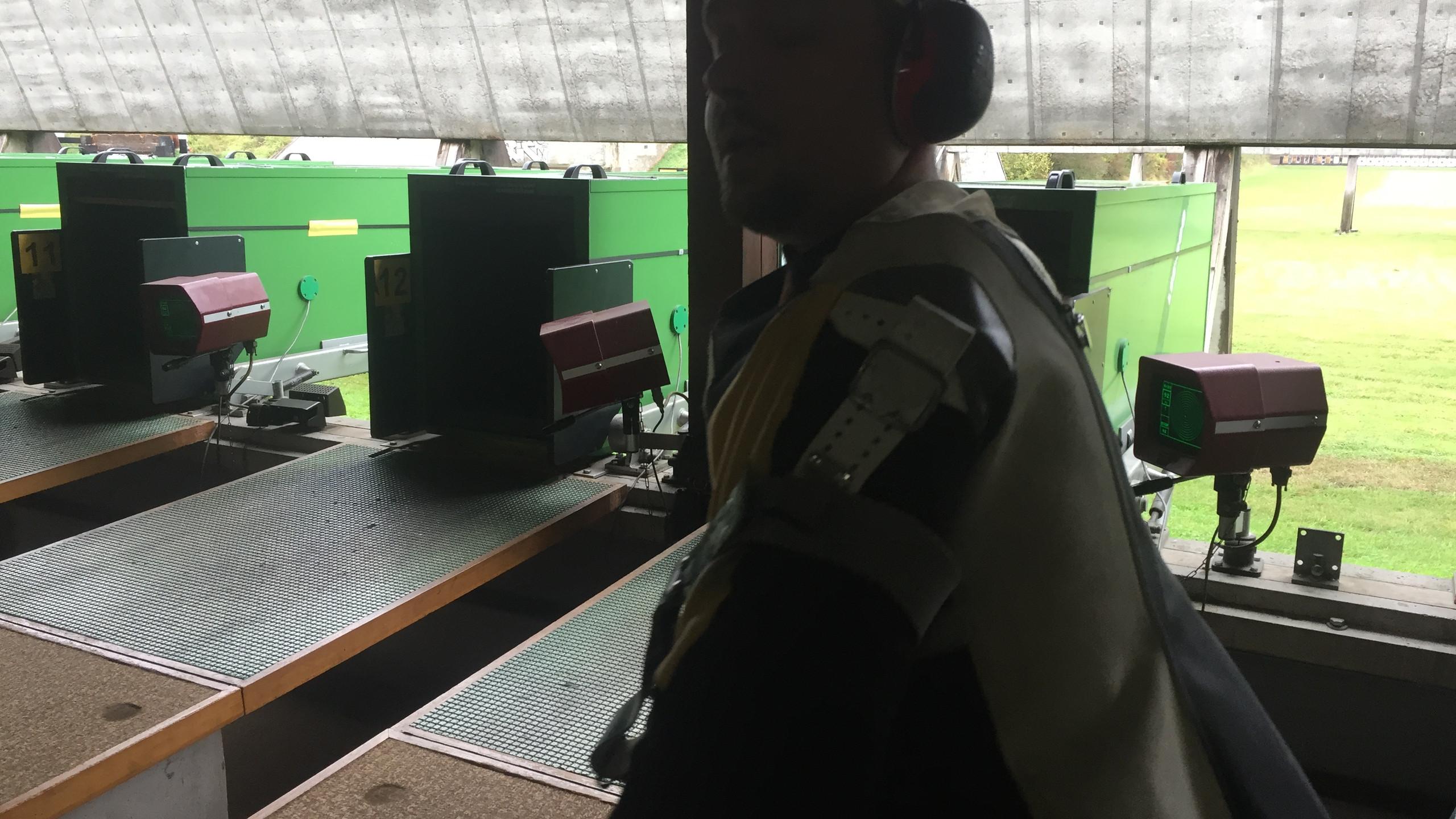 Yeux carabine