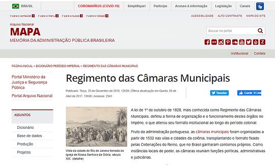 regimentodascamarashistoria.png
