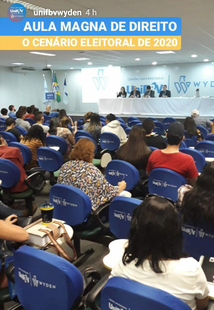 Palestra sobre Cidadania e Transparência
