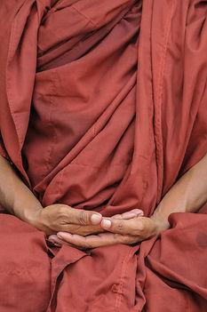 Meditando o gesto da mão