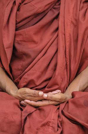 Handgebaar mediteren