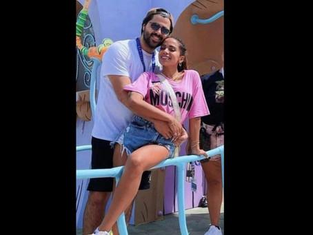 Anitta é fotografada aos beijos com cantor Lunay em ensaio e aumenta rumores de separação