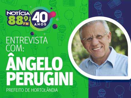 Prefeito Ângelo Perugini fala sobre as orientações da prefeitura para enfrentamento da fase vermelha