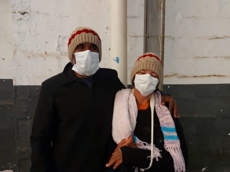 Abrigo temporário da Fidam recebe 51 pessoas em situação de rua