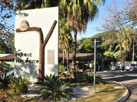 Parque Ecológico e Jardim Botânico ficam fechados no final de semana