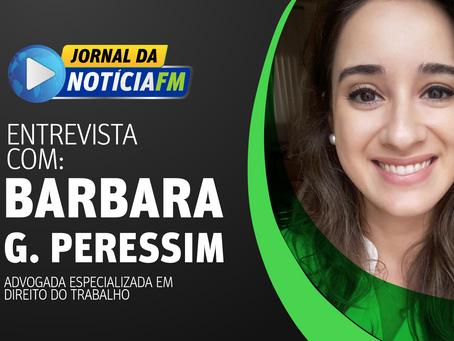 Entrevista com Barbara Gomes Peressim