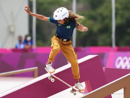Rayssa Leal, a Fadinha, faz história e é prata no skate street nas Olimpíadas