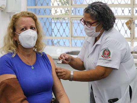 SP ultrapassa 30 milhões de doses aplicadas de vacinas contra a COVID-19