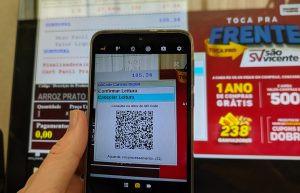 Rede Supermercados São Vicente aceita sistema PIX para pagamentos