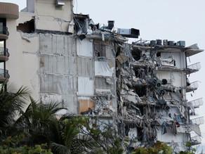 Prédio desmorona parcialmente em Miami Beach; veja FOTOS e VÍDEOS