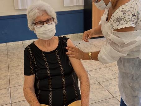 Prefeitura de Hortolândia inicia vacinação contra a COVID-19 para idosos de 65 anos, neste sábado