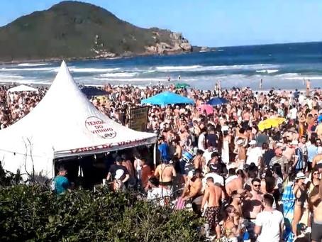 Praias, rios e lagoas de SC têm ocupação liberada no verão; veja regras