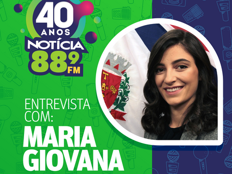 Maria Giovana afirma que se conscientizar é fundamental no combate ao Covid-19