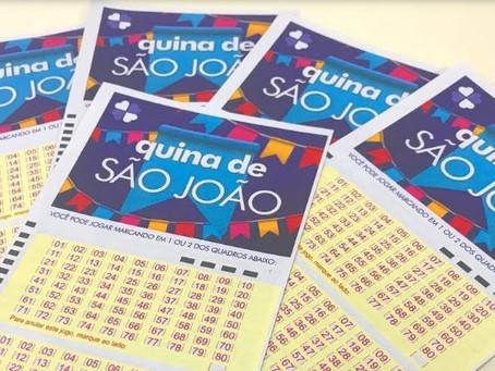 Oito apostas acertam a Quina de São João e levam R$ 25 milhões cada