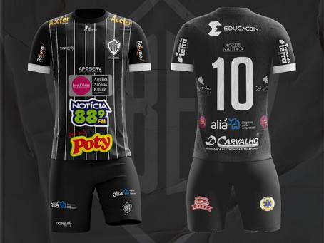 Lançadas as novas Camisas 2021 do Rio Branco Esporte Clube