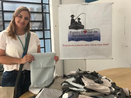Fundo Social e Unisal confeccionam kits de higiene para doação
