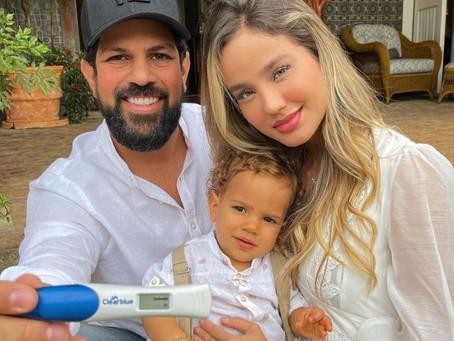 Biah Rodrigues mostra barriga de gravidez do 2º filho com Sorocaba: 'Está grandinha já'