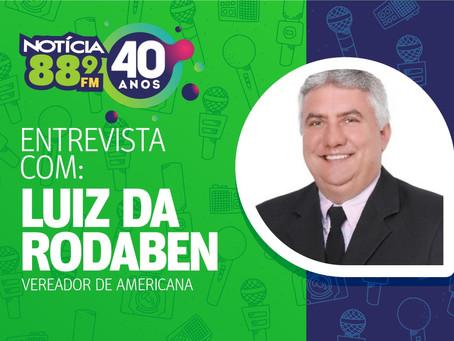 Luiz da Rodaben, presidente da Câmara Municipal de Americana, é pré candidato à Prefeitura