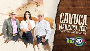 """É domingo, dia 17 de outubro, a estreia do programa sertanejo """"Cavuca Marruco Véio"""" na Notícia FM"""