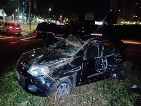 Acidente entre dois veículos na Av. Brasil, em Americana, deixa vítima fatal nesta madrugada