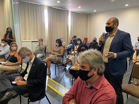 Chico participa de reunião de prefeitos sobre COVID-19