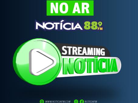Streaming Notícia: novidade na programação da Notícia FM