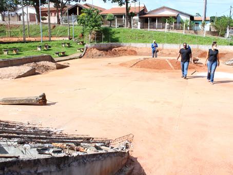 Secretaria de Esportes de Americana retoma construção de pista de skate no Zanaga