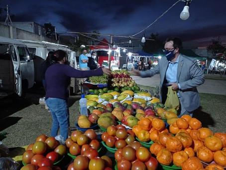 Em comemoração ao aniversário de Sumaré, prefeito Luiz Dalben entrega novas feiras livres na cidade