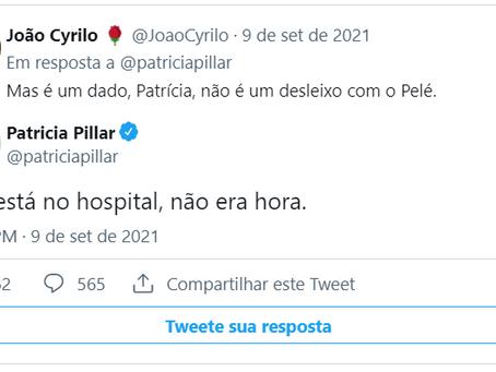 Patricia Pillar diz que Neymar 'decepciona mais a cada dia'; jogador rebate