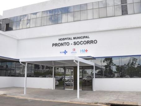 Hospital Municipal atinge taxa de ocupação de 100% de leitos sem respiradores