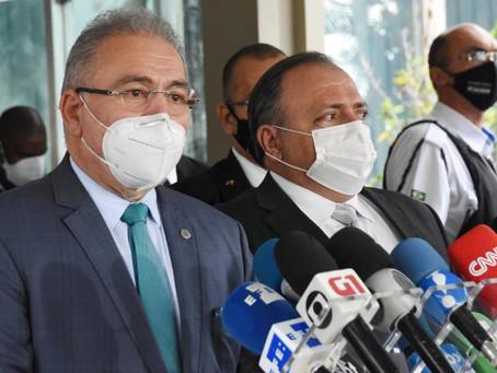 Marcelo Queiroga diz que Fiocruz vai produzir insumo nacional para vacina contra Covid-19 em agosto