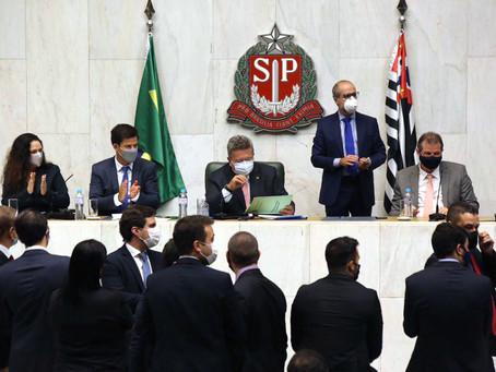 Carlão Pignatari é eleito presidente da Assembleia Legislativa do Estado de São Paulo