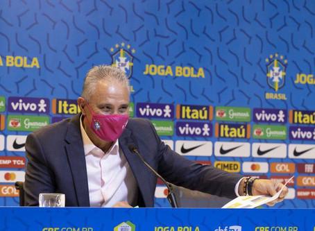 Tite convoca seleção para Eliminatórias da Copa do Mundo, em Novembro