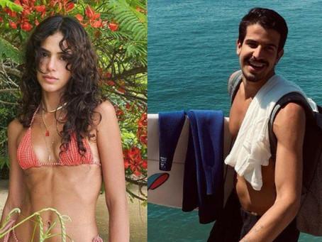 Enzo Celulari e Bruna Marquezine trocam declaração de amor publicamente