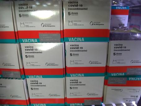 Americana recebe mais 11 mil doses de vacina contra a Covid-19