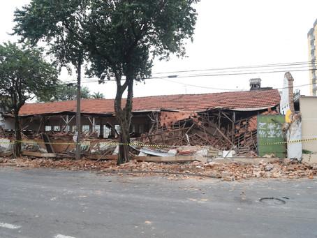 Defesa Civil de Nova Odessa interdita salão comercial após desabamento