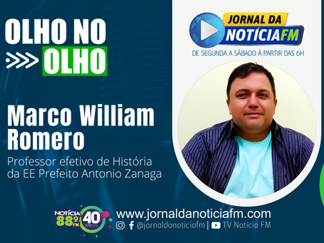 Olho no Olho com Marco William Romero