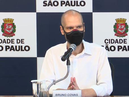 Bruno Covas decide se licenciar do cargo de prefeito de SP por 30 dias para tratar câncer