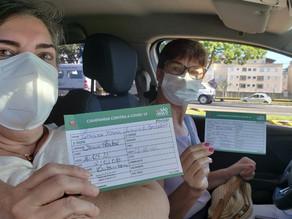 Americana vacina 1.534 pessoas contra a Covid-19 neste sábado