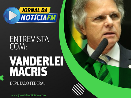Deputado Federal Vanderlei Macris anuncia no Jornal da Notícia reforma da Ivo Macris