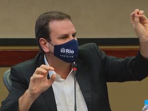 Prefeito Eduardo Paes é diagnosticado com Covid-19 pela segunda vez