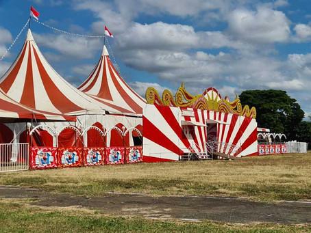 Instalado na Fidam, circo não pode funcionar, diz Prefeitura de Americana